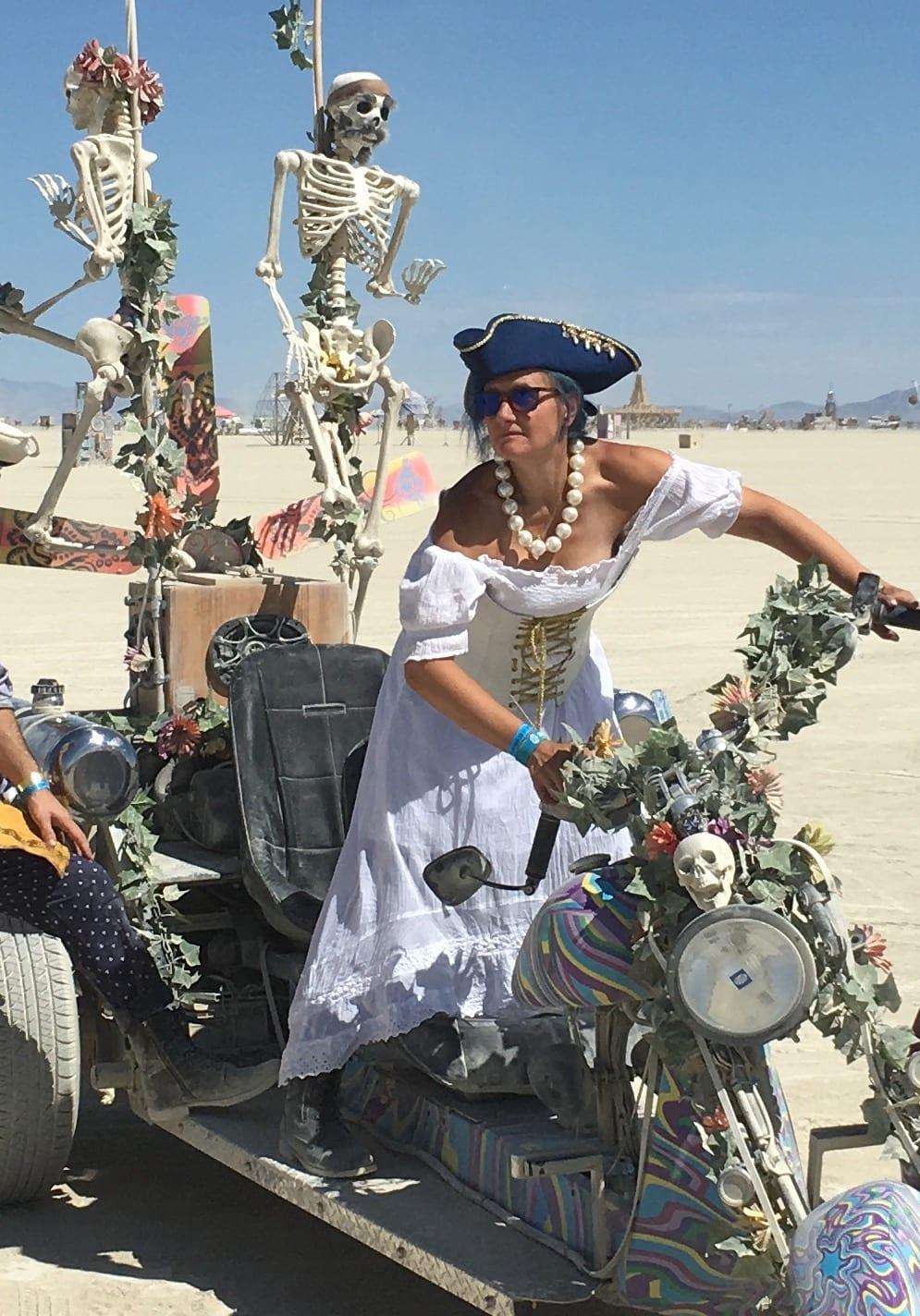 Stacey Newman Weldon of Adventure Wednesdays at Burning Man